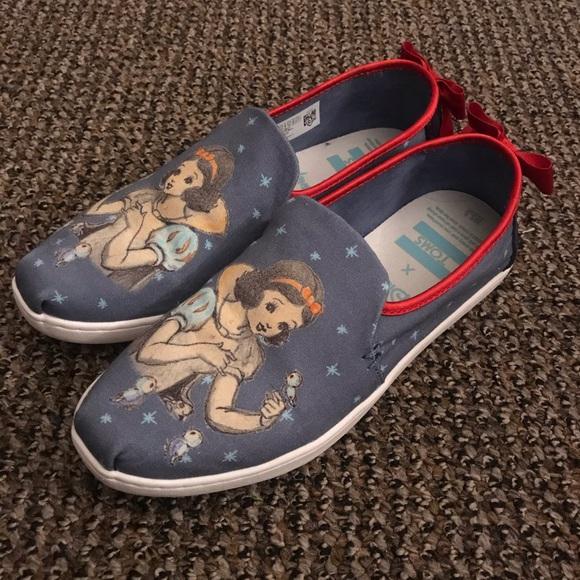 Toms Shoes   Disney Snow White   Poshmark